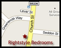 Map of Rightstyle Bedrooms Location